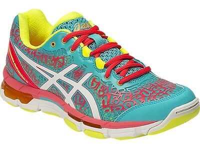Asics Gel Netburner Professional 12 Womens Netball Shoes (B) (3901)