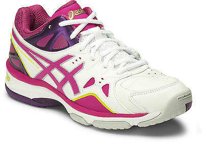 Asics Gel Netburner 18 Womens Netball Shoes (D) (0121) + Free Aus Delivery