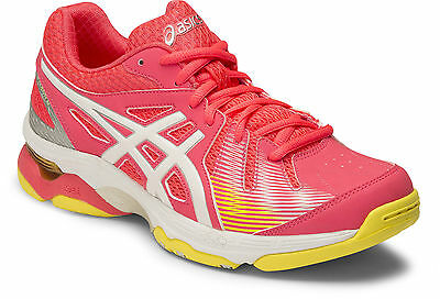 Asics Gel Academy 6 Womens Netball Shoes (B) (2001) + Free Aus Delivery