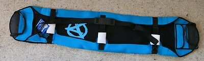 Anticorp 130+ Neoprene Snowboard Cover Sleeve Black / Blue With Blue Logo