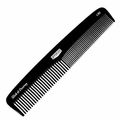 Uppercut Deluxe Pocket Comb Black Barber Hair Styling Brush