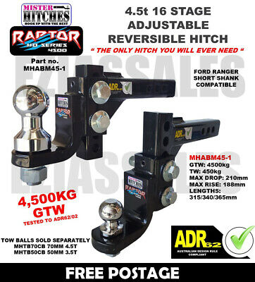 2 Bicycle Bike Rack Carrier Tow Ball Mount Foldable Light Weight