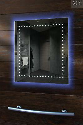 Lamda Ambient RGB LED Bathroom Mirror