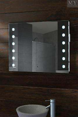 Reflex LED Bathroom Mirror with Shelf