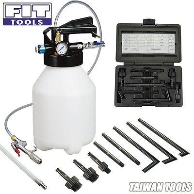 FIT 6L Pneumatic ATF Auto Transmission Fluid Extractor Dispenser Refill Pump