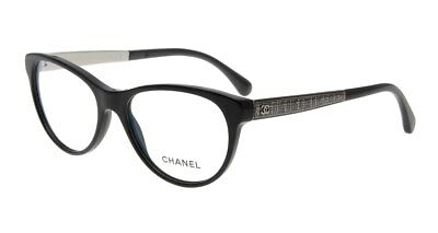 886e43e2f2 Brand New Chanel Women Eyewear CH 3333 c.501 Authentic Frame Glasses Case  Italy