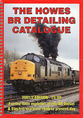 Howes BR Detailing Catalogue - 2001