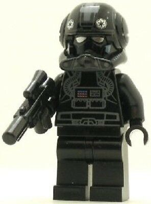 LEGO Star Wars Minifig Imperial V-Wing Pilot + Blaster STARFIGHTER Episode 3 NEW