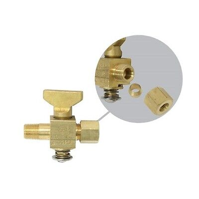 "Gas Valve For Pilot (Brass) 1/8"" NPT"