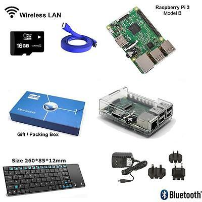 Maker-Sphere 16gb Complete Raspberry Pi 3 Model B Quad Core Windows IOT Starter