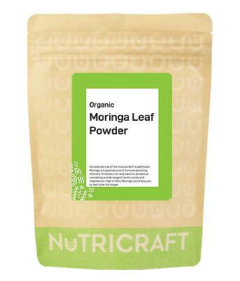 Organic MORINGA leaf powder - RAW - No mixers or fillers - pick quantity!