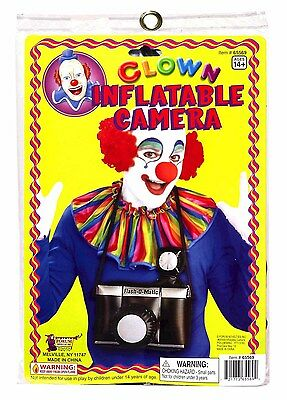 Clownin' Around - Clown Inflatable Camera, For 14+ Years New!
