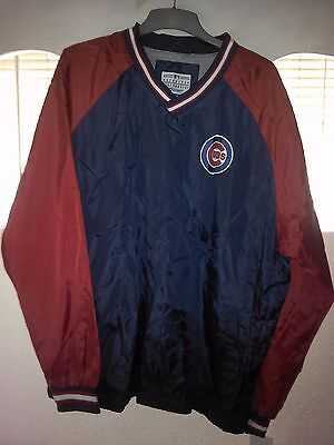 Chicago Cubs 2-Tone Windbreaker Large NWT Lester Bryant Rizzo Soler Heyward Baez