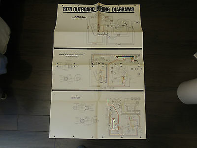 1978 Johnson Seahorse Outboard Wiring Diagram Poster Size