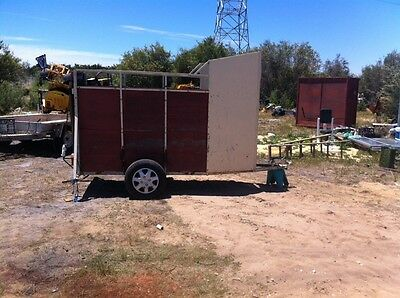 $400 calls only Single Horse Float Trailer Pony Trailer Float Donkey Trailer