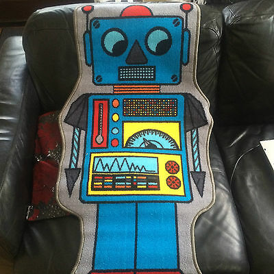 kids robot playmat