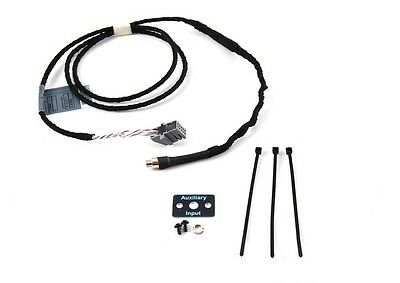BMW Aux Audio Input Cable E46 3 Series from 09/02 to 05  W/O NAV  82110149389