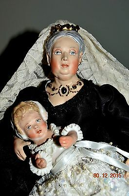 All Original Kathy Redmond Queen Victoria with Edward Museum Quality one owner