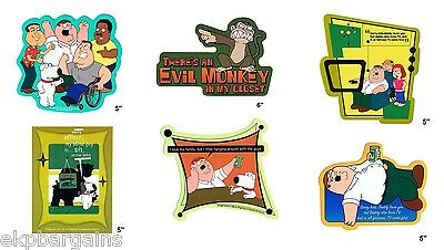 Family Guy Sticker Lot of 50 Wholesale Liquidation Officially Licensed