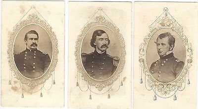 Civil War CDVs of General Officers