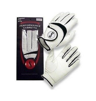 Cabretta Leather Golf Gloves CADET & ALL SIZES AVAILABLE (4 PACK SALE)