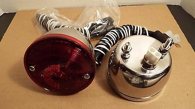 1951 1952 chevrolet tail light assemblies all models deluxe 1955 1956 1957 1958 1959 chevrolet gmc truck stainless 2 taillight w wiring
