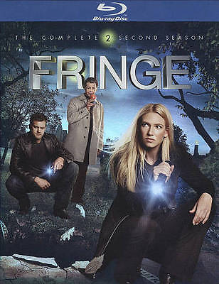 FRINGE - The Complete Second Season [Blu-ray, 4-disc set] Brand NEW