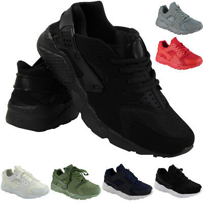 Mens Running Trainers Womens Fitness Gym Sports Comfy Lace Up Shoes Size