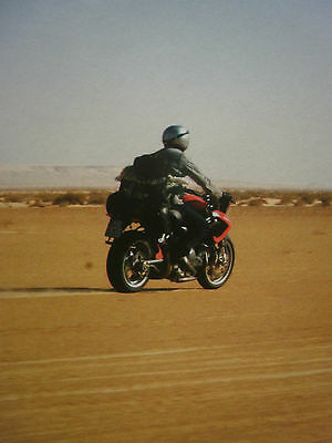 Benelli Tnt / Across The Sahara # Original Motorcycle 8 Page Road Test / Article