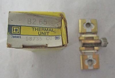 Square D - B2.65 Thermal Heater Element (New)
