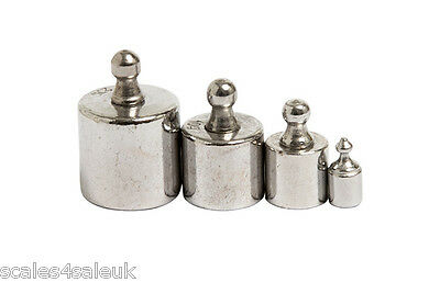 PACK OF 4 CALIBRATION WEIGHTS FOR DIGITAL SCALES (1g, 5g, 10g, 20g) GRAMS