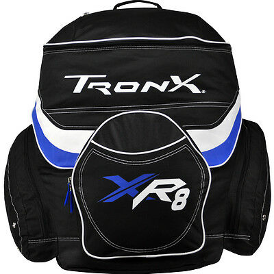 Hockey Equipment Bags Backpack Ice Inline Player Gear Bag New Skate Side Pockets