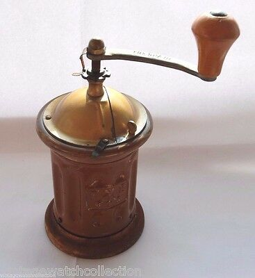 Trespade Antique Made In Italy Coffee Grinder Mill