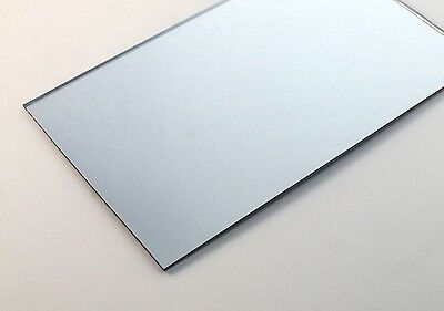 Acrylic Silver Mirror 610 x 610 x 3mm CAST Sheet UV Stable FREE POST Perspex