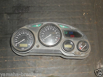 Suzuki GSXF 750 Clocks 2001