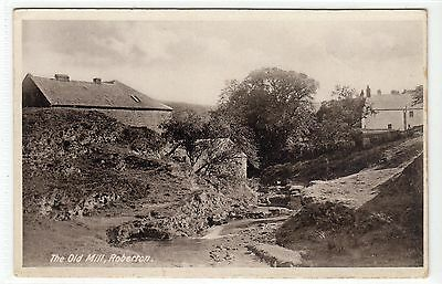 THE OLD MILL, ROBERTON: Lanarkshire postcard (C15188)