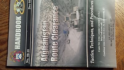 Afghanistan Route Clearance Army Lessons Learned Handbook