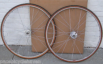Campagnolo Nuovo Record High-Flange Hubs/Super Champion Medaille D'Or Rim Wheels