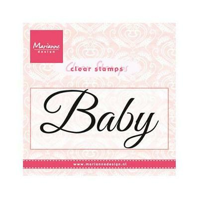 Marianne Design Clear Stamps - Baby Text CS0958