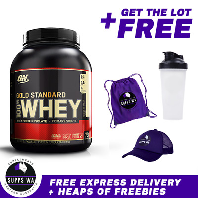 Optimum Nutrition 100% Whey 5lb Gold Standard WPI WPC Protein
