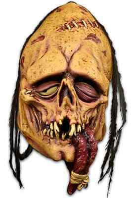 Tongue Tied Mask Toxictoons Zombie Fancy Dress Halloween Adult Costume Accessory
