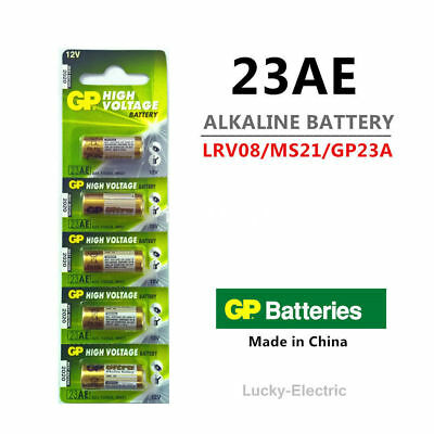 5 pcs GP Ultra 23A 21/23 A23 23A 23GA 23AE 12V Alkaline Battery