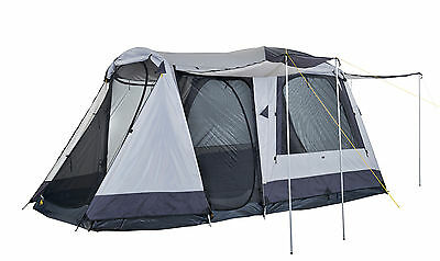 OZtrail Dome Tent With Awnings 6 Person 2 Room Family Camping Hiking Outdoors
