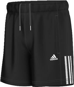 Adidas Essentials Mid 3 Stripes Woven Youth Shorts Long black/white (S23288)