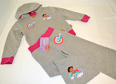 Dora Girl's Tracksuit/Hoodie & Joggers 18-24 Months / 2-3 / 3-4 / 4-5 Years