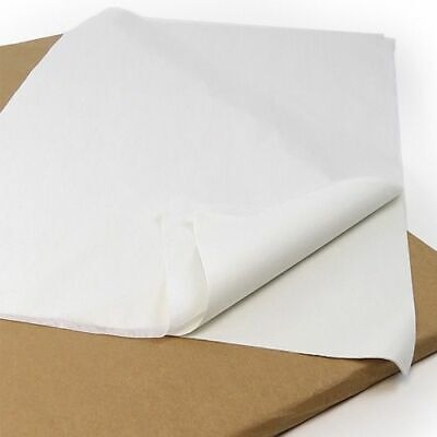 """White 18gsm 18"""" x 28"""" (480mm x 700mm) 480 Sheets Acid Free Tissue Wrapping Paper"""