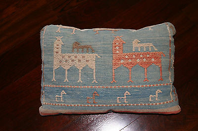 Mid Century / Hollywood Regency/ Bohemian Antique Pillow