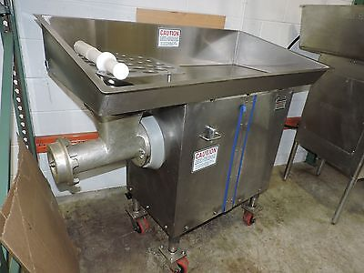 Used Biro, 548 - 5HP #32 Commercial Meat Grinder / Mincer