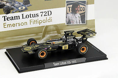 Emerson Fittipaldi Lotus 72D #8 Weltmeister Formel 1 1972 1:43 Altaya
