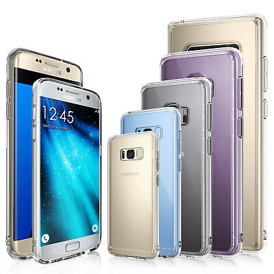 For Samsung Galaxy S7/S7 Edge Case | Ringke FUSION Clear Shockproof Protect Case